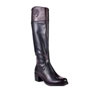 VINCE CAMUTO Duke Leather Riding Boot Size 10
